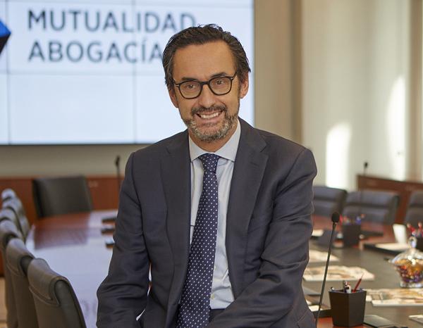 Enrique Sanz Fernández-Lomana, presidente de Mutualidad de la Abogacía