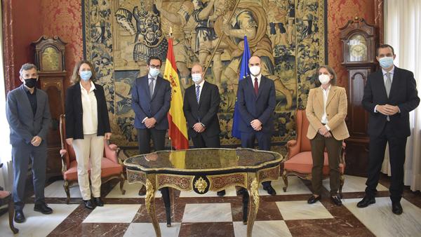 Fundación Mutualidad Abogacía convenio de colaboración con el Ministerio de Justicia