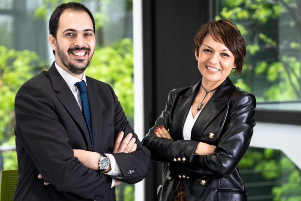 Silvia Palacios y Ricardo Fortún