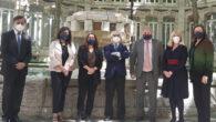 Foto de familia de la firma de colaboración entre Monereo Meyer Abogados y el Consejo Arbitral de Madrid