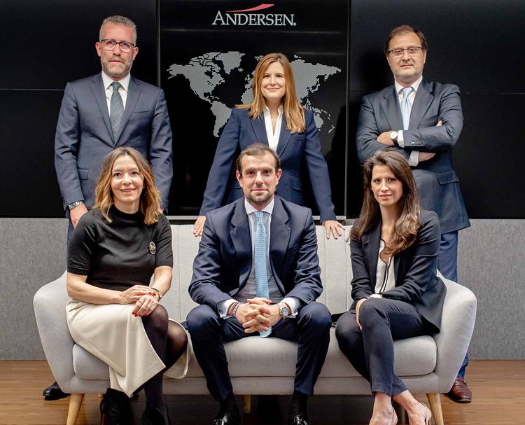 socios en Andersen en España