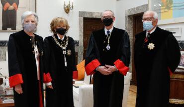 Victoria Camps; María Teresa Fernández de la Vega; Antón Costas; y Fernando Ledesma
