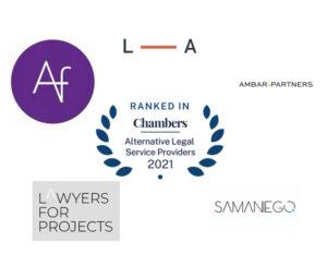 Chambers mapa de ALSPs españolas