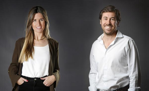 Claudia Pierre y Carlos Ripollés