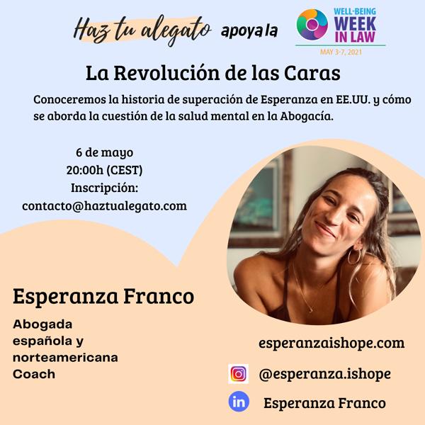 #HazTuAlegato Esperanza Franco