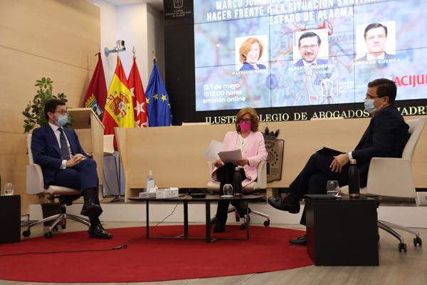 Alberto Dorrego, Patricia Rosety y Alfonso Cuenca