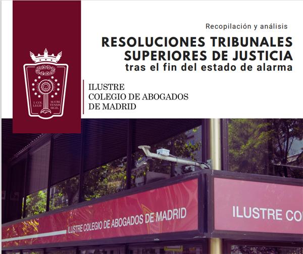 ICAM RESOLUCIONES TRIBUNALES SUPERIORES DE JUSTICIA