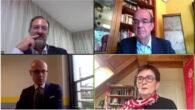 João Ferreira, José Luis Piñar, Alberto Di Felice y Birgit Sippel