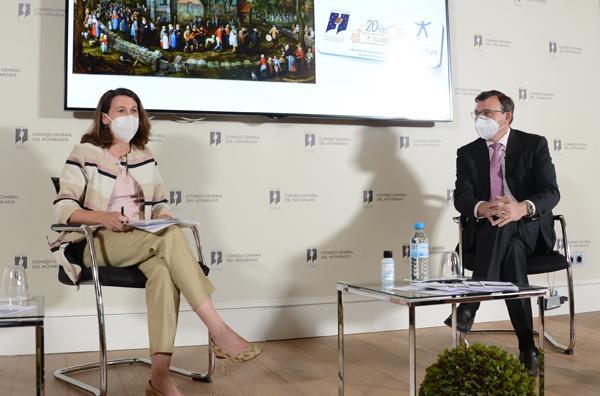 Ana Cristina Gómez y Jose Angel Martinez  Sanchiz