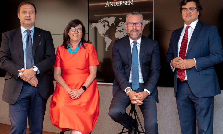 Íñigo Rodríguez-Sastre, Victoria Caldevilla, José Vicente Morote e Ivo Portabales