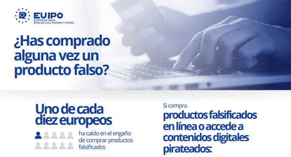 consumidores y productos falsificados