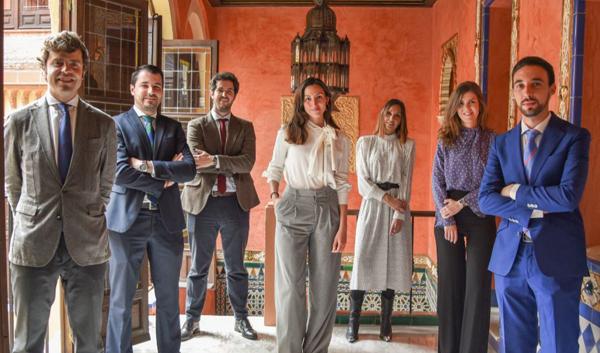 Junta Directiva de la Agrupación de Jóvenes Abogados de Córdoba
