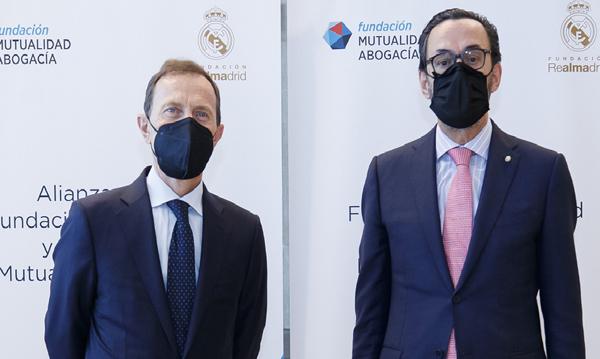 Emilio Butragueño y Enrique Sanz Fernández-Lomana