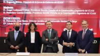 De izq. a dcha. Ángel Ledesma, Lucía Montes Saralegui, Fernando Díaz Barco, Francisco García-Ortells y Eugenio Ribón