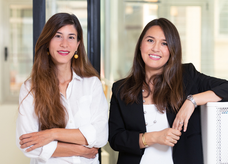 Irma Cebrián y Silvia Perea, Fundadoras de Abroading