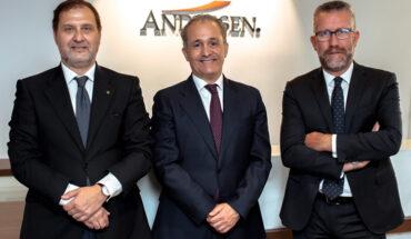 Andersen incorpora Pedro Rubio