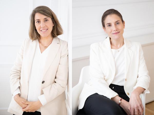 Carmen Masa y Beatriz Orbis