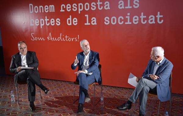 Ferran Rodríguez, Santiago Durán y Antoni Gómez