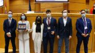 Asociación de Debate de la Universidad de Málaga ganadora de la V Liga Nacional de Debate Jurídico