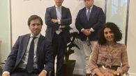 Miguel Pérez Rocamora y Marina Mastrantoni. Armando Rozados y Jose María Rueda,