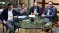 Javier Chisbert, Reyes Rodríguez Zarza, Enrique Zarza y José Molina.