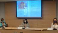La presidenta del Consejo General de la Abogacía Española, Victoria Ortega, la ministra de Justicia, Pilar Llop y la delegada del Gobierno de Violencia de Género, Victoria Rosell
