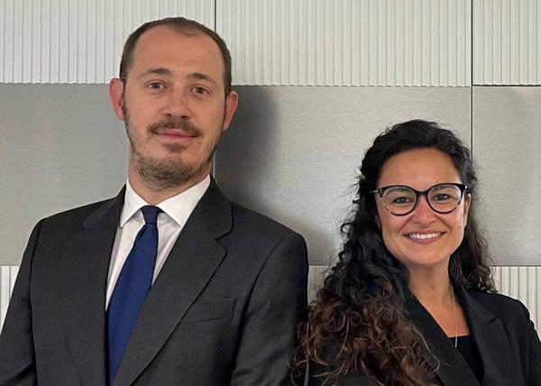 Miguel Pastur   y Isabel Rodríguez León
