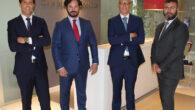 Victor Machado, Esteban Ceca, Francisco Reyes y Gustavo Pérez