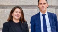Alma Martínez y Daniel Lago