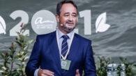 Javier Íscar, impulsor del Open de Arbitraje, durante la inauguración de la VII Edición