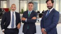 Emilio Gude, Jesús Carrasco y Esteban Ceca