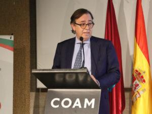 El secretario de la Junta de Gobierno del ICAM, José Ignacio Monedero