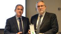 Rafael Pérez, comisario jefe de la Policía Judicial; y José Marqueño, ex presidente del Consejo General del Notariado