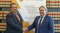 El Presidente de la Asociación, Antonio Martínez y por Pedro Martín Molina, presidente de Martín Molina Abogados y Economistas.