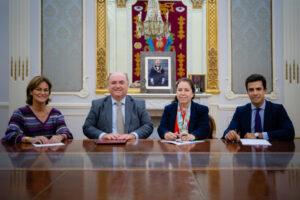 María Segimon, Jorge Marti, Urquiola de Palacio y Juango Ospina