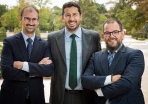 Constantino Vidal, Nazario Mendoza y Antonio Cendán